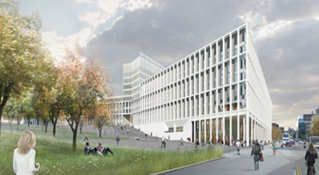 architectural visualisation, glasgow colleges