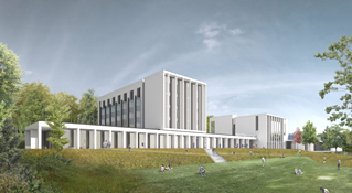 architectural visualisation, sports centre